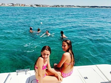 Escursione in Barca a Torre Castiglione prenotazioni