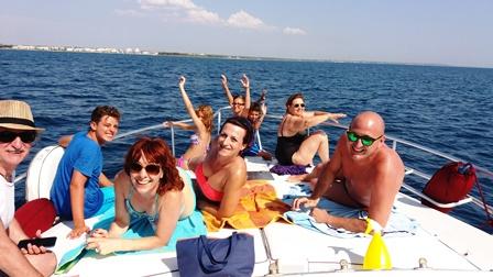 Escursione in barca da Gallipoli