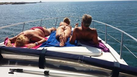 Gita in Barca a Punta della Suina