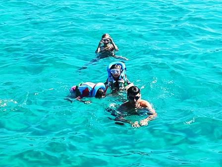 Snorkeling Colonne Romane Porto Cesareo